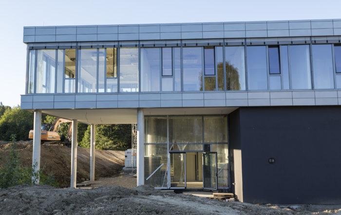 Rohbau Jumbo neue Standort in Sprockhövel